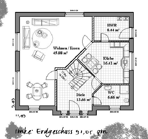 Kreativhaus ihr starker partner im bereich fertigh user for Hausplan einfamilienhaus